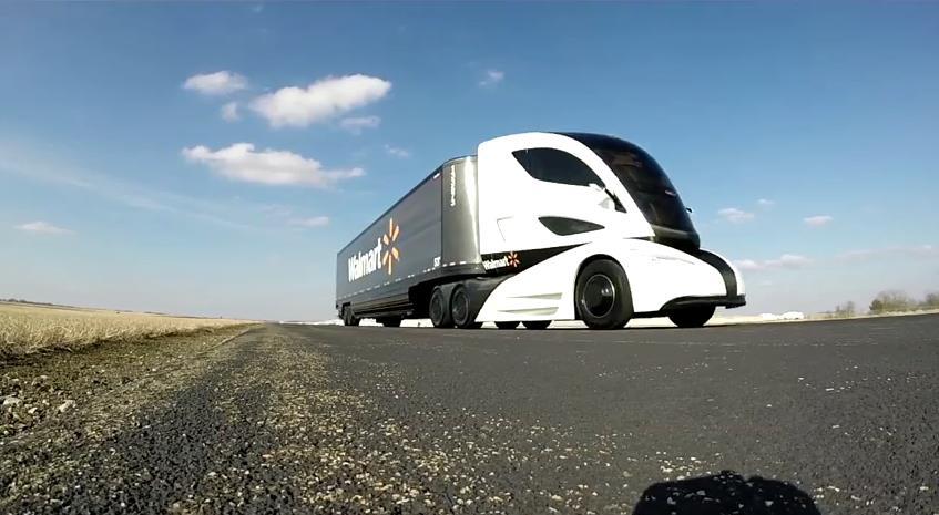 ウォルマートが大型トラック